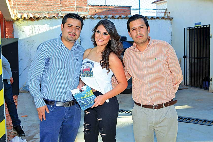 Carlos Rodríguez, Natalia Avendaño y Mauricio Rodríguez.