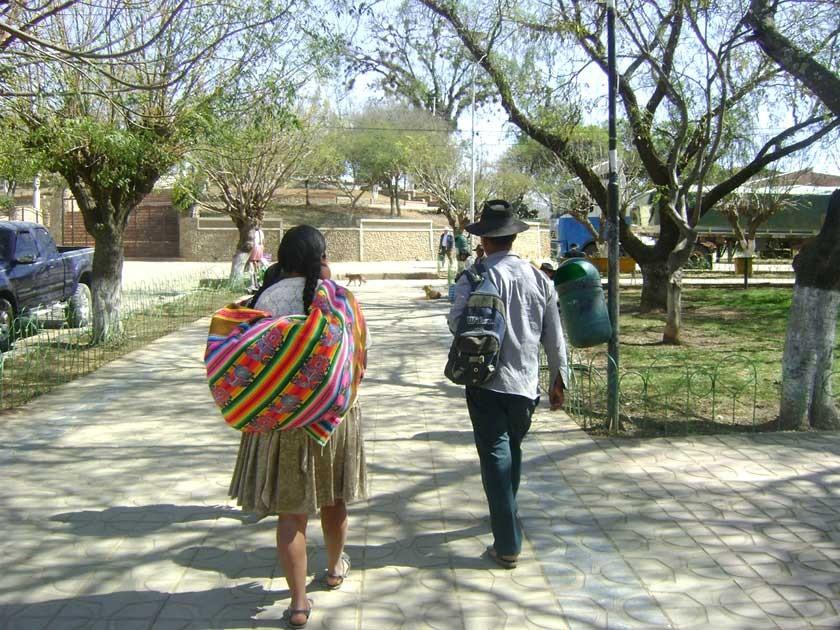 La migración persiste y deprime más al área rural de Chuquiscaca. archivo