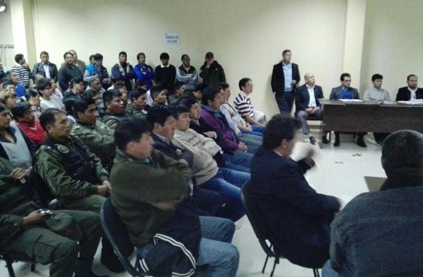 La continuación de la audiencia de apelación se desarrolló la tarde de este martes. Foto: Enrique Quintanilla