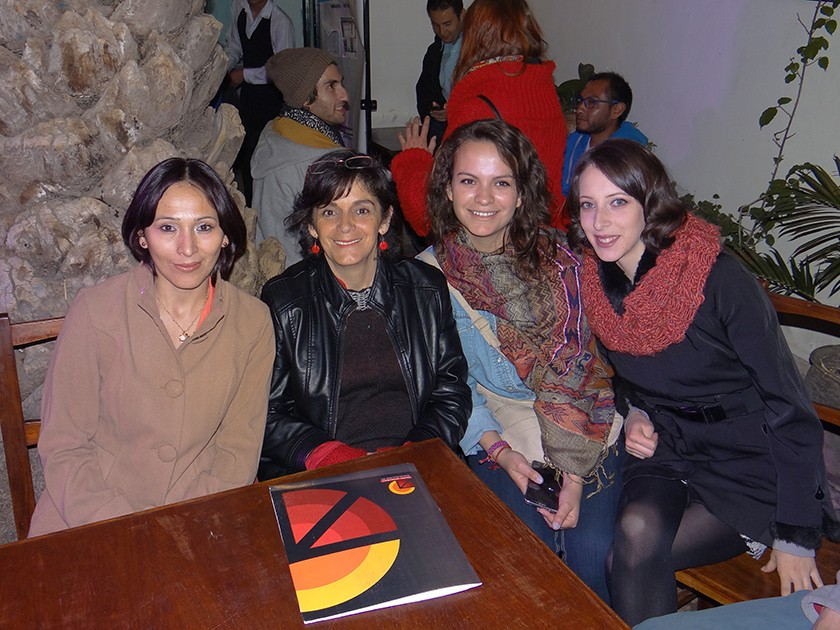 Mariela Miranda, Jacqueline Dupleich, Marcia Álvarez  y Annie Nitzschke.