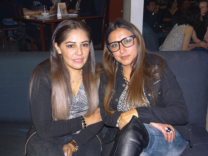 Pilar Eysele y Carla Ameller.