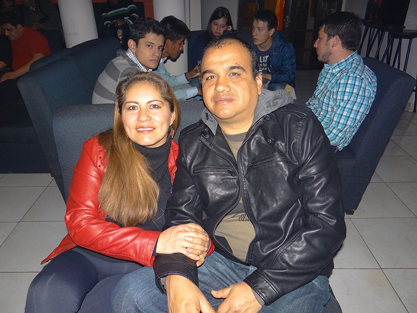 Ruth Andrade y Julio Vera.