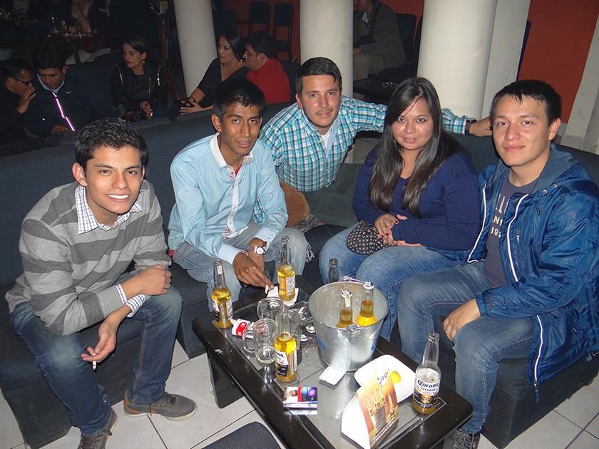 Patricio Céspedes, Juan Frimat, Agustín Cosulich,  Alejandra Cortez y Diego Tayagui.