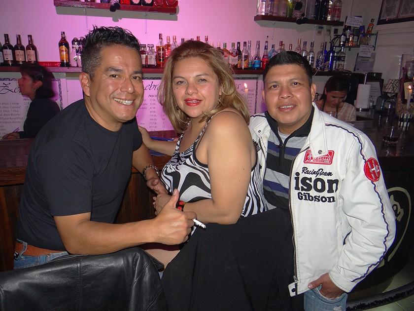 Norman Porcel, Selma Pozzo y Juan Castedo.