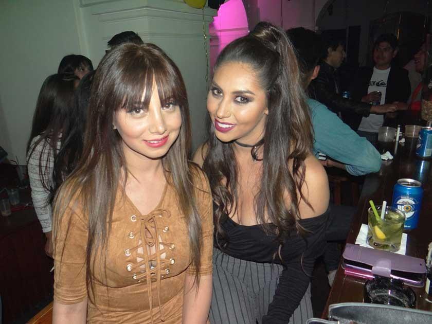 Lina Tapia y Cecilia Castro.
