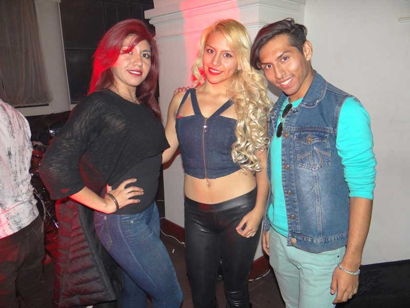 Oyam Corminales, Zuynnee Arandia y Emilio Ramírez.