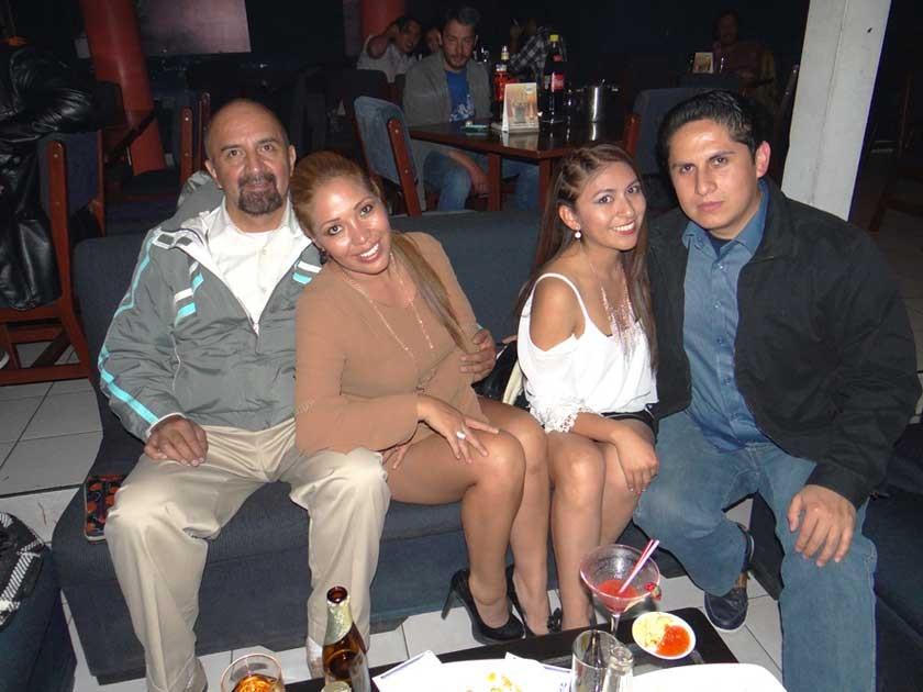 Juan José del Carpio, Ludgarda Martínez, Estefanie Ledezma y Rodrigo Miranda.