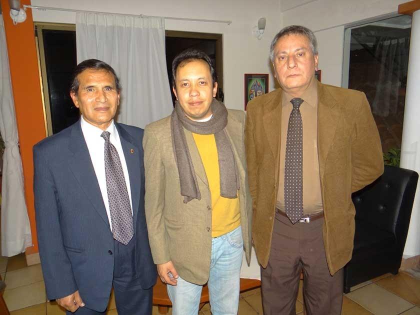 José León, Enrique Díaz y Fernando Carranza.