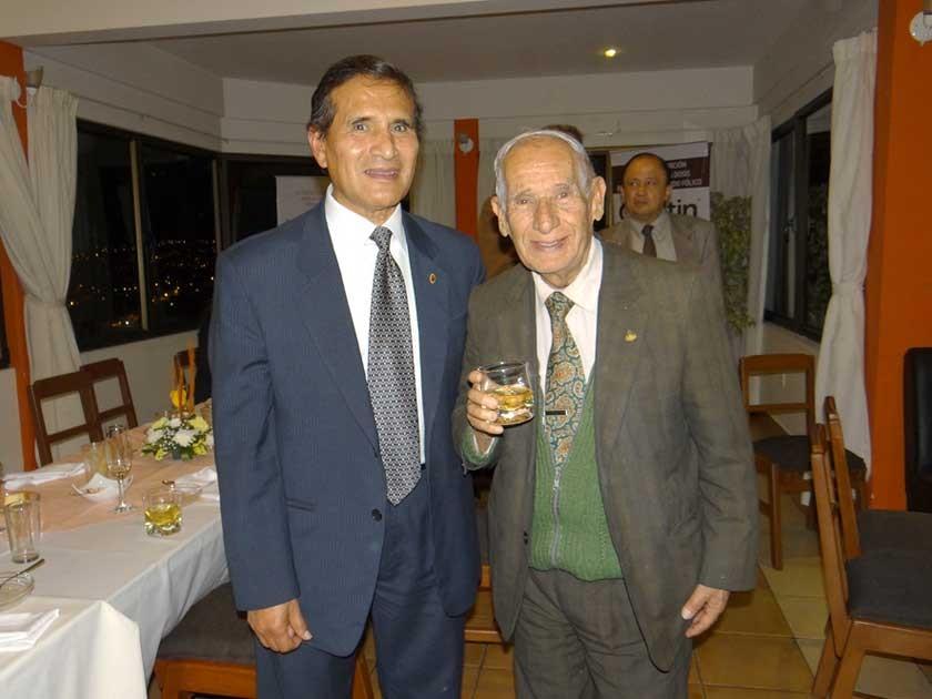 José León y Jorge Doria Medina.
