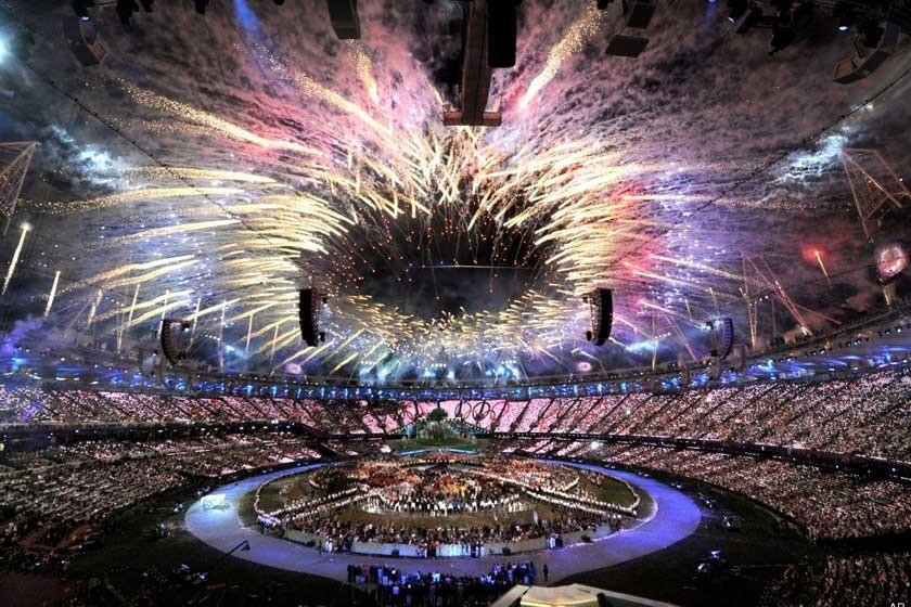 Inauguración de los últimos Juegos en Londres