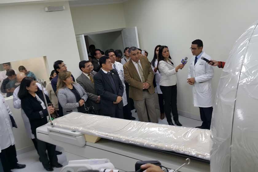 """Hospital de la """"U"""" estrena tomógrafo y alista trasplante de riñón en Sucre"""