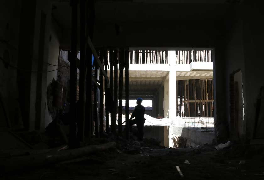 vulneración. Propietarios ejecutan obras sin tener un proyecto de construcción aprobado en la calle Camargo.