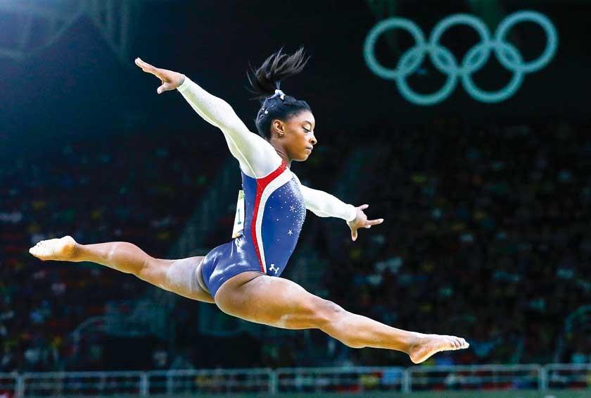 Simone Biles se convirtió en una de las estrellas de Río 2016