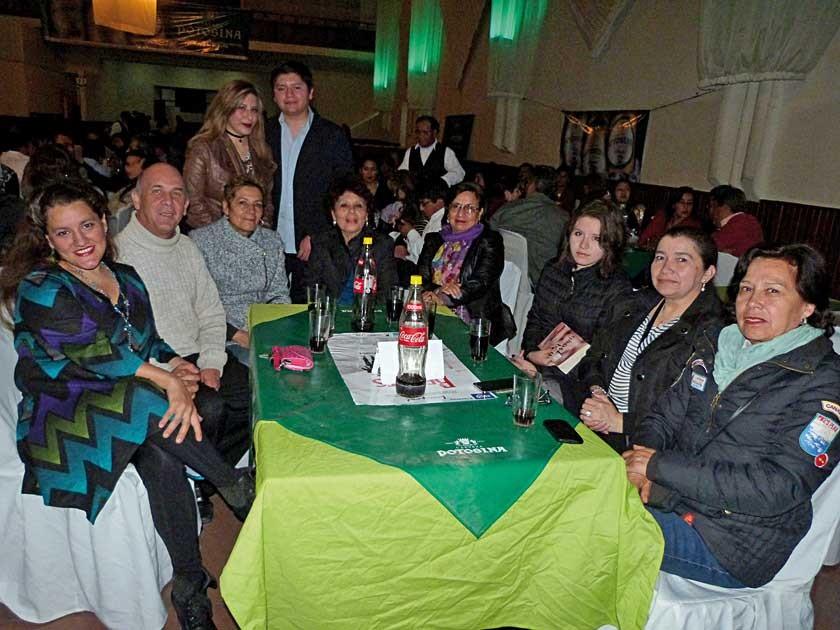 María Luján Carreón, Gonzalo Negrón, Ximena Camacho, Lidia Gonzáles, María Josefina Rejel, Gabriela Peñaranda Villarroel