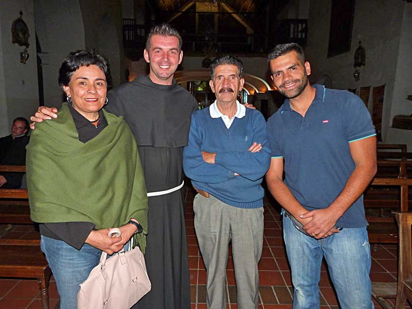 Alba Amézaga, Stepan Brcina, Pablo Pereira y Mauricio Pereira.