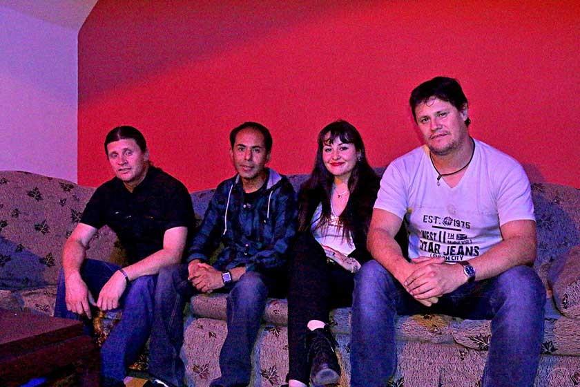 El Grupo Clasicc compuesto por Humberto Caballero, Eduardo Núñez, Claudia Nava y Álvaro Caballero.