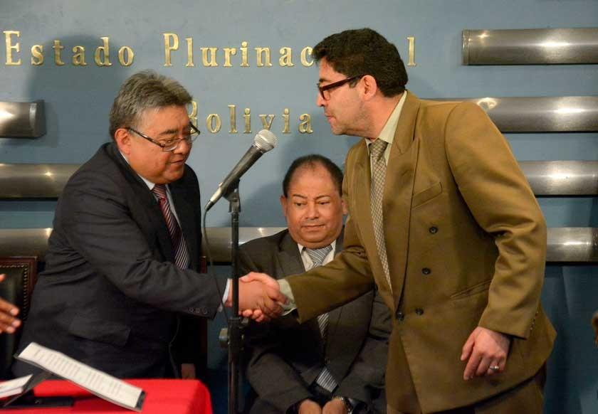 AUTORIDAD. Illanes reemplazó a Marcelo Elío el 14 de marzo de 2016, estuvo 164 días en el cargo.