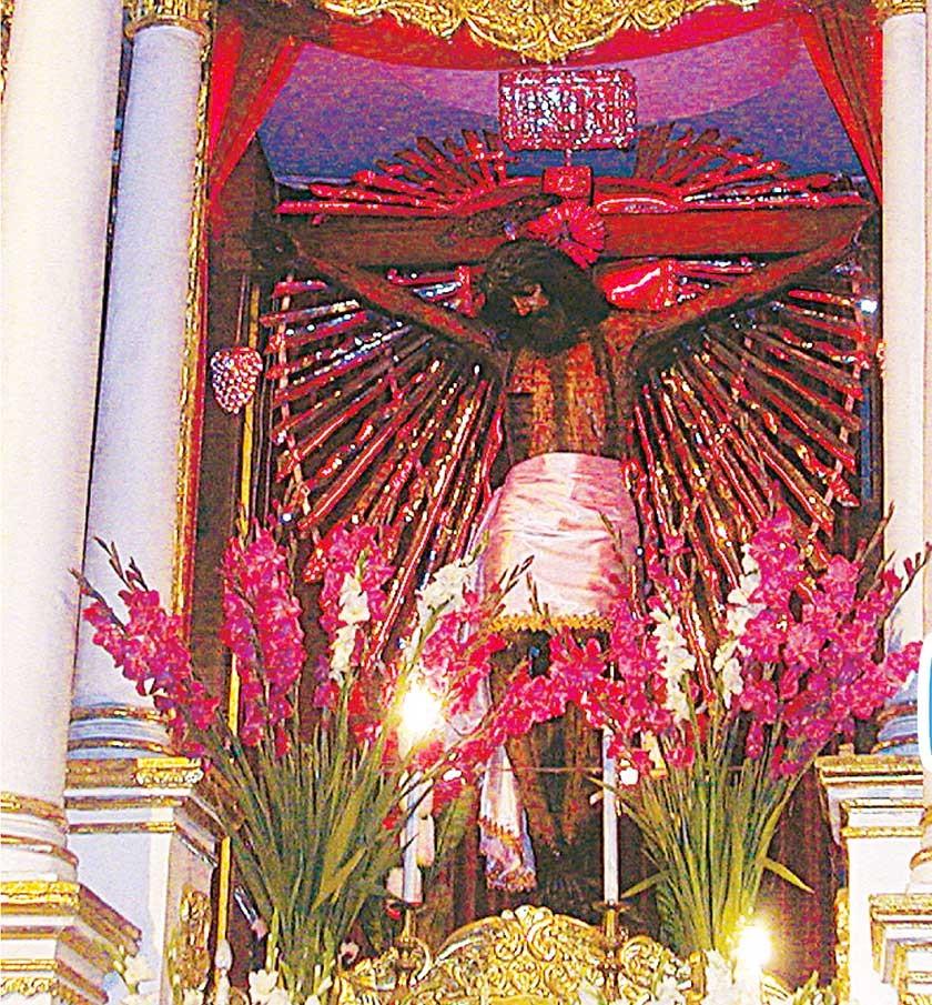 PATRONO. El Santo Cristo de la Vera Cruz es el patrono de Potosí.