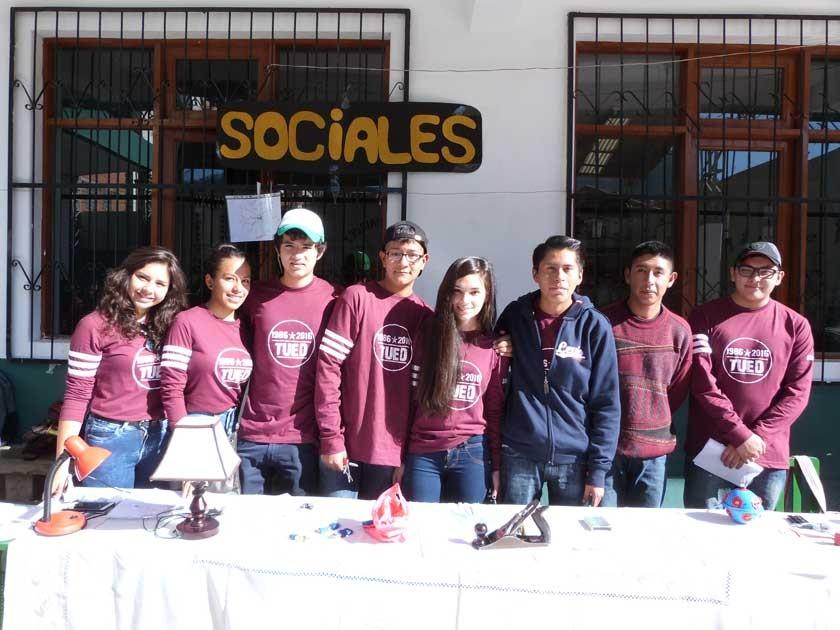 Dania Fiorillo, Valeria Carvajal, Andrés Mostajo, Mauricio Villafan, Flavia Durán, M. Rodríguez, Marcelo Quiroga y ...