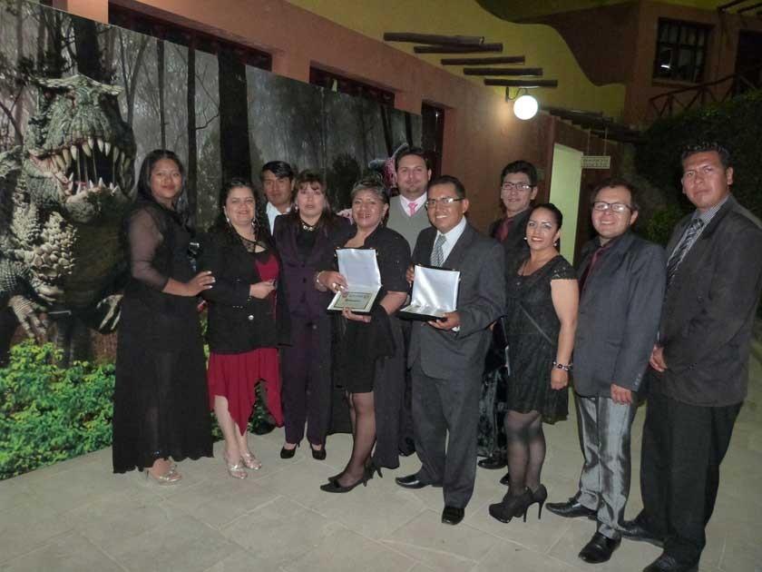 Los trabajadores del Parque, Dora Ortuste, Viviana Vera, María Ibáñez, María Teresa Gamón, Juan Carlos Molina, Fahara M.