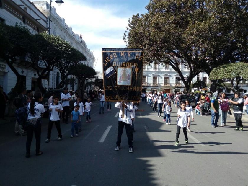 Los chicheños del liceo Manuel Rodríguez de Quiroga. FOTO: CORREO DEL SUR