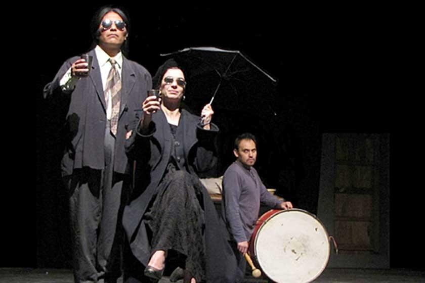 BRILLANTE. Presentación de la obra Hamlet de los Andes.