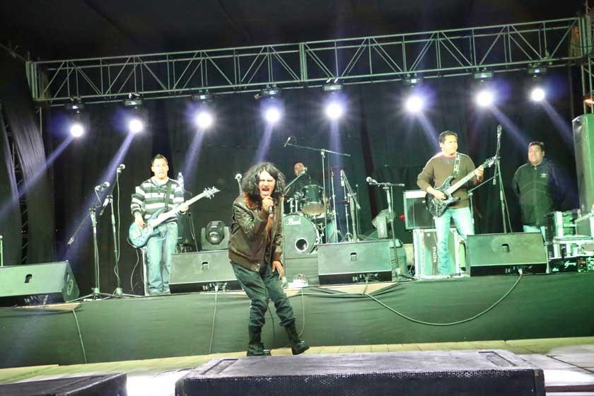 SUCREFEST. La Logia en el concierto ofrecido en San Juanillo.