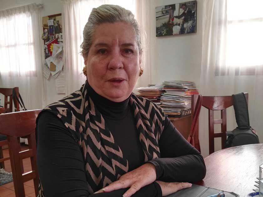 Ina Urquidi, fundadora, actual directora ejecutiva y representante legal de la ETI.