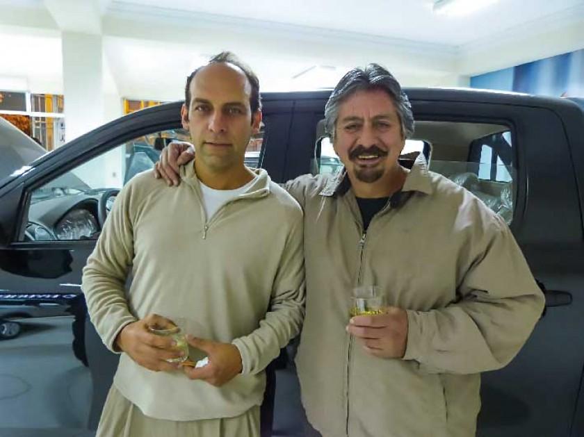 Jaime Durán y Fernando Rocha.