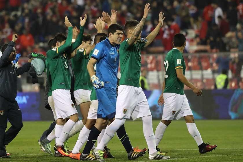 Bolivia le desarma la fiesta a Chile