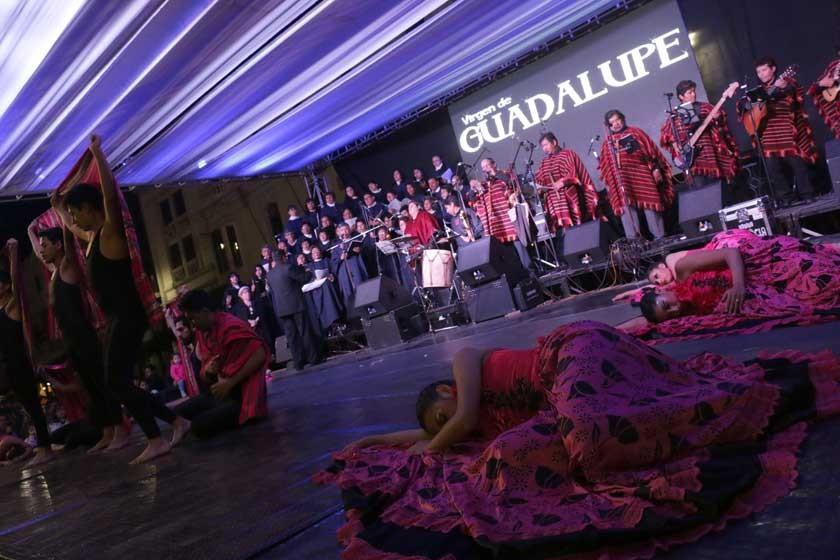 Sucre celebra a la Mamita Gualala