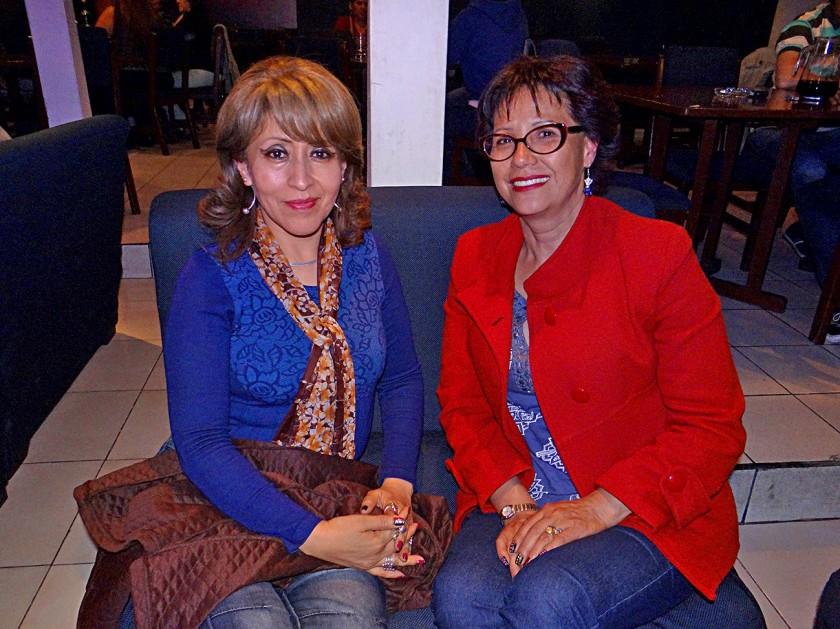 Elsa Torres y Ana Calderón.