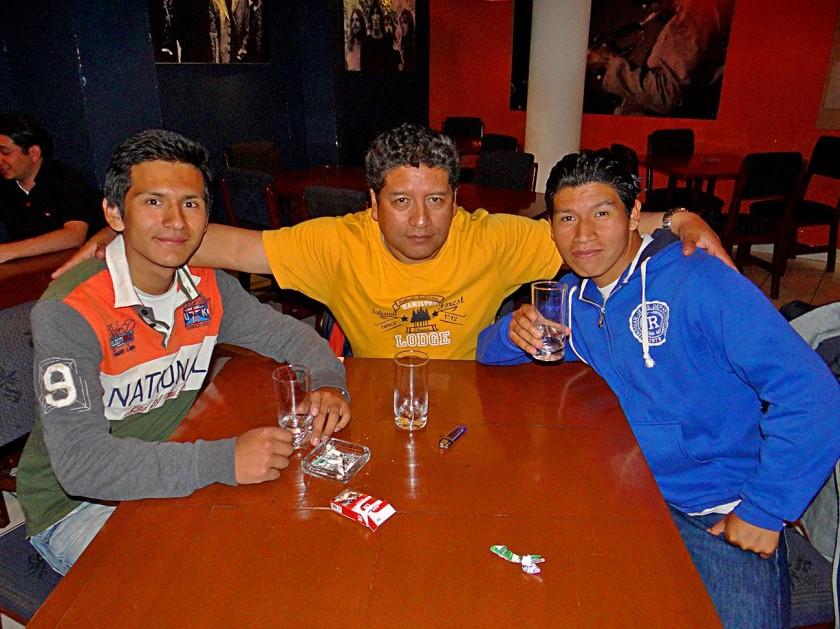 Familia Oropeza.