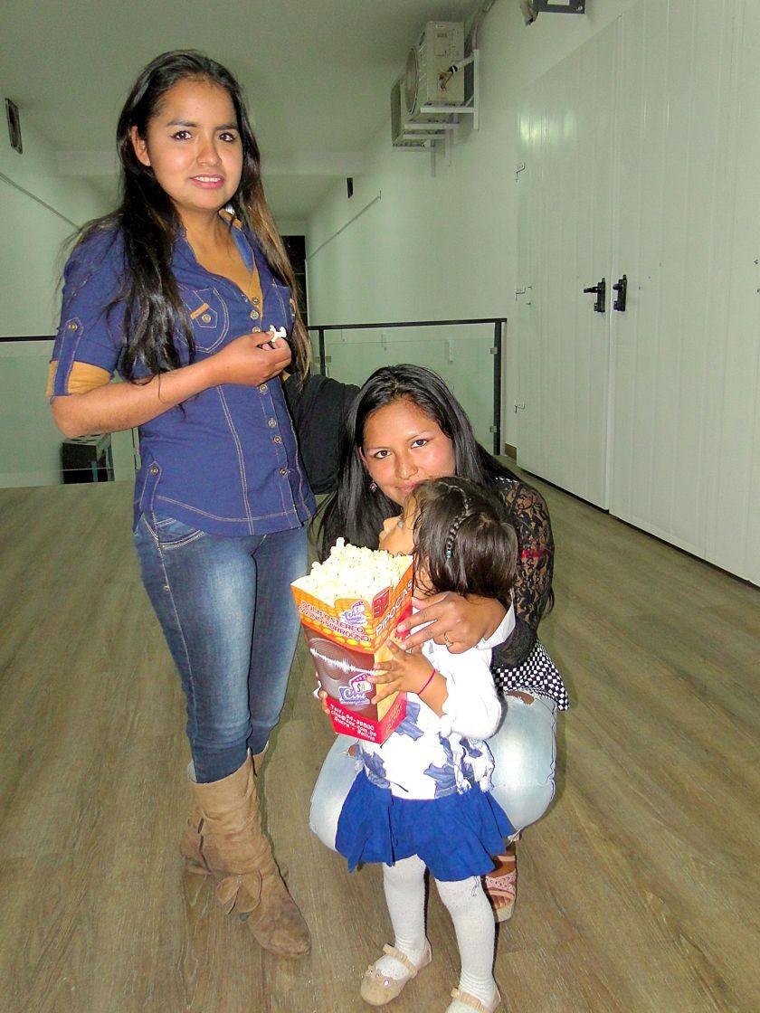 Bia Romero, Maira Pérez y Briana Pérez