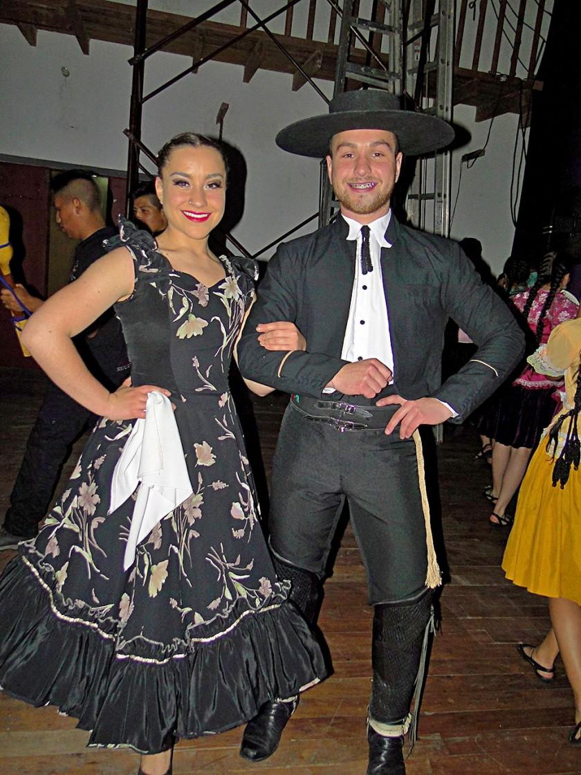 Calera de Tango – Chile, Ballet Pilficam: Gonzalo Silva y Carla Silva