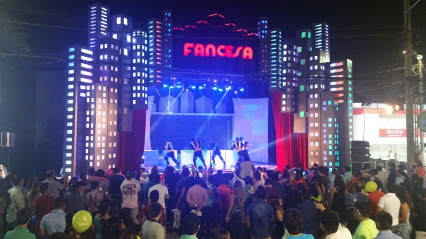 El stand de Fancesa en la Expocruz 2016. Foto: Gentileza/Fancesa