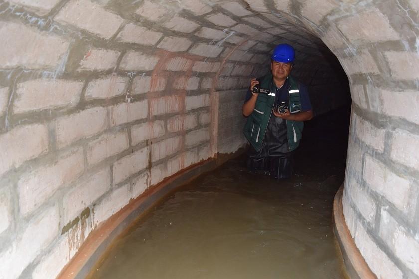 Una de las zona del canal de agua proveniente del río Ravelo. Foto: Henry Aira