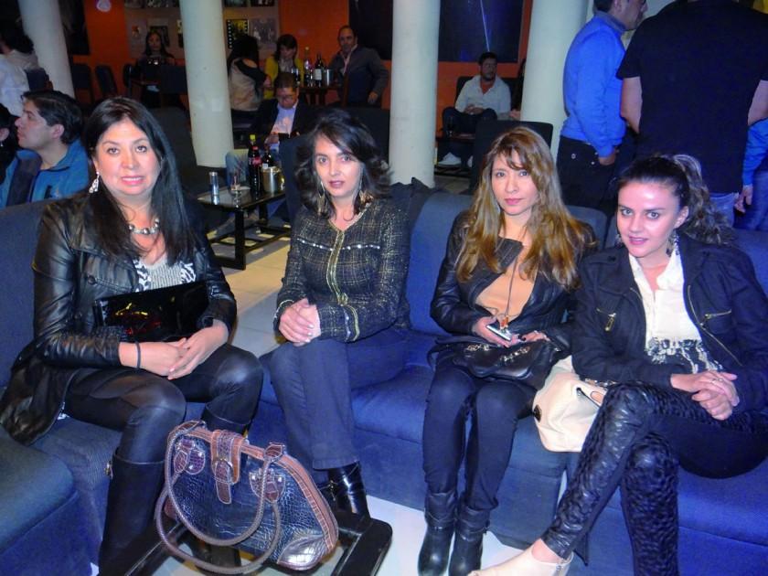 Carolina Galván, Mauren Hoss, Sandra Palacios  y Ximena Hoss.