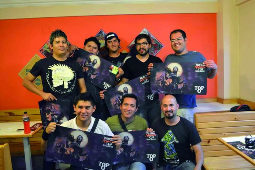 """Los Finalistas """"TOP 8""""."""
