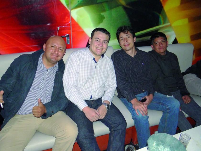 Rodrigo, Marco, Juan y Emilio.