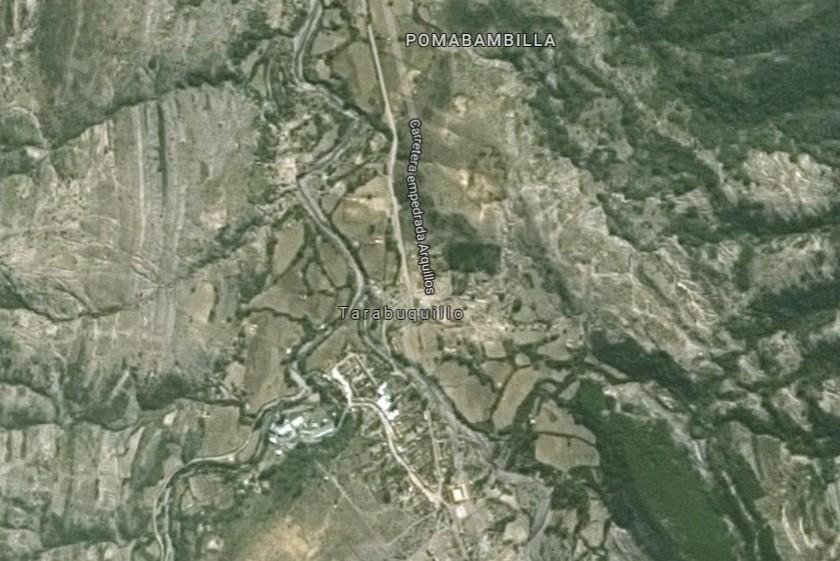 La violación se habría consumado en Tarabuquillo, una comunidad de Tomina. Foto: Google Maps