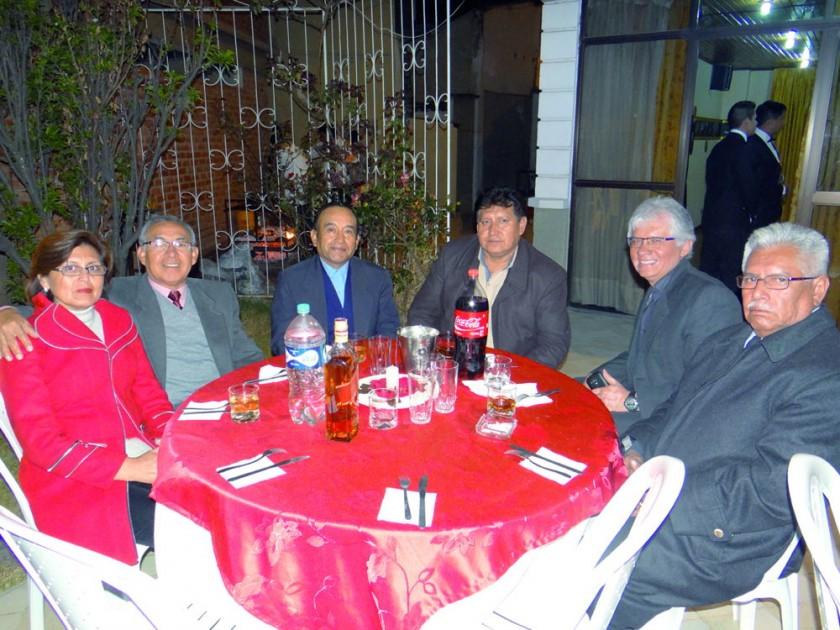 Zulma Ayala, Jorge Meneses, Roberto Arancibia, Elías Espada, José Aguilar y Valerio Cardozo.