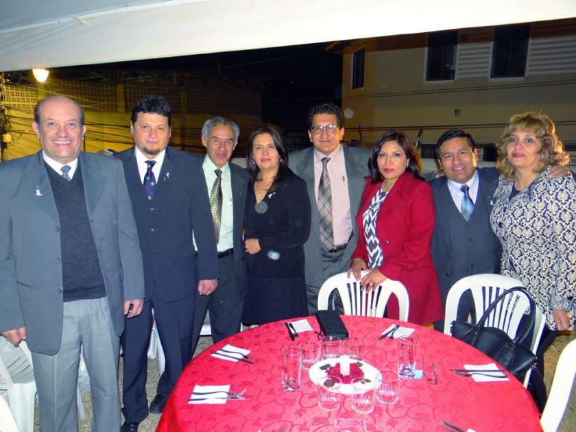 Antonio Céspedes, Gregorio Valda, Paul Torrico, Jenny Montellano, Wilfredo Escalante, Silvia de la Cruz, Manuel Camargo