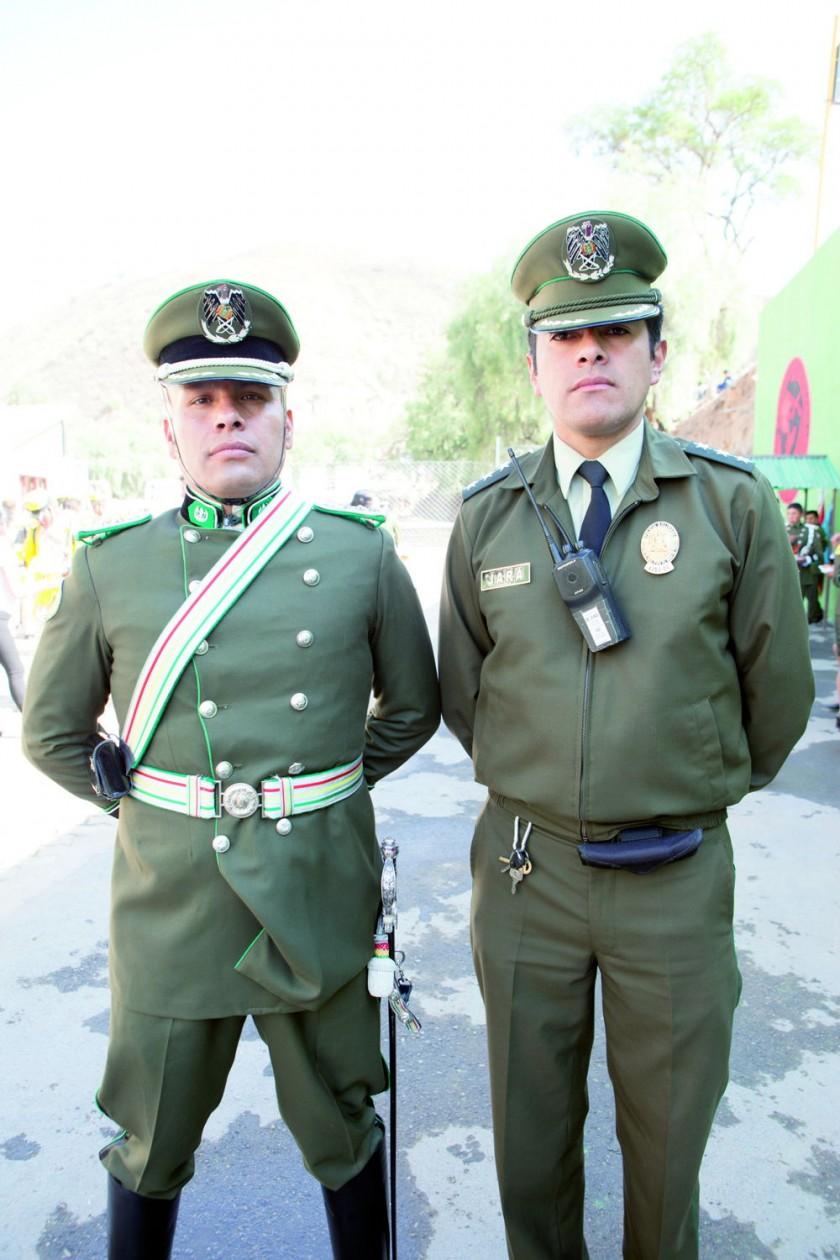 Edson Paniagua y Luis Jara.