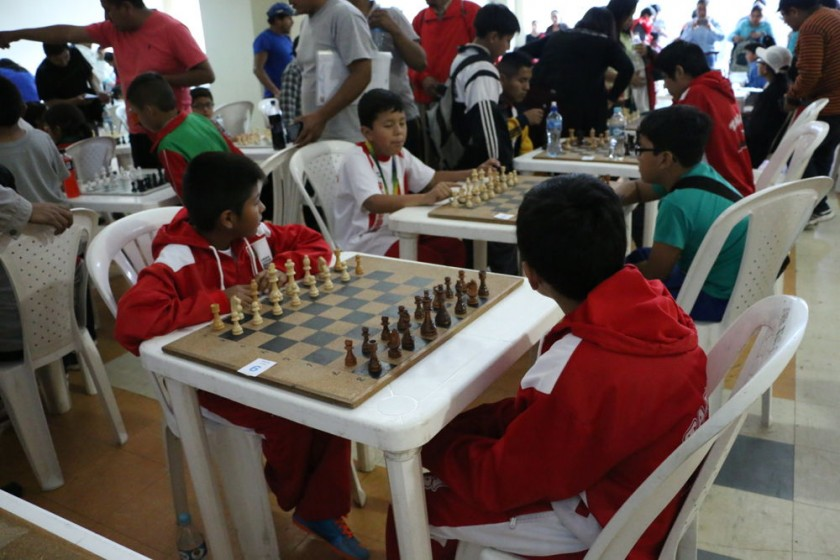 Un centenar de ajedrecistas asistieron al Festival