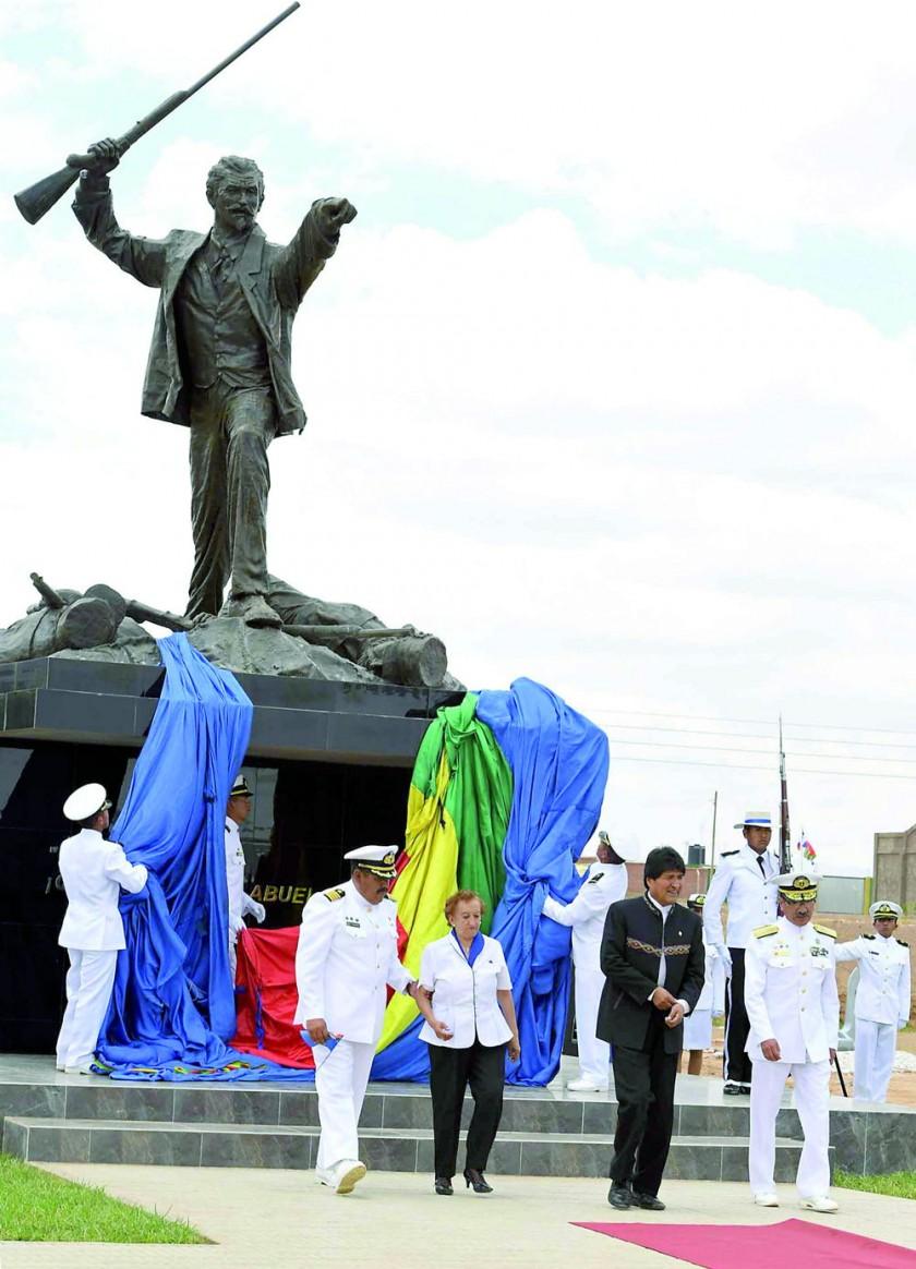 ACCESO. Evo Morales sugiere la instalación de un nuevo proceso contra el gobierno chileno.