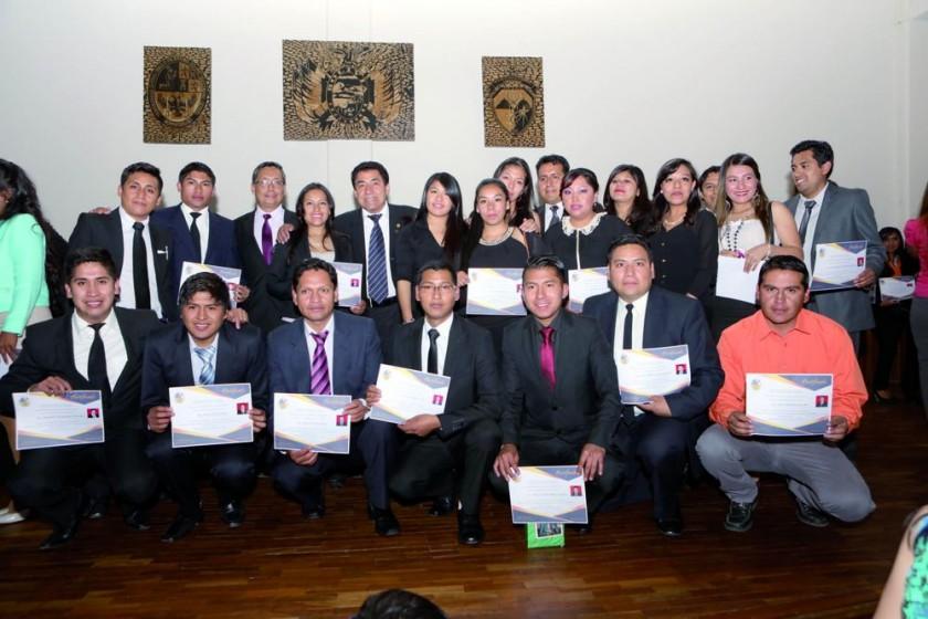 Egresados de la Maestría en Formulación, Evaluación y Gestión de Proyectos Públicos y Privados.