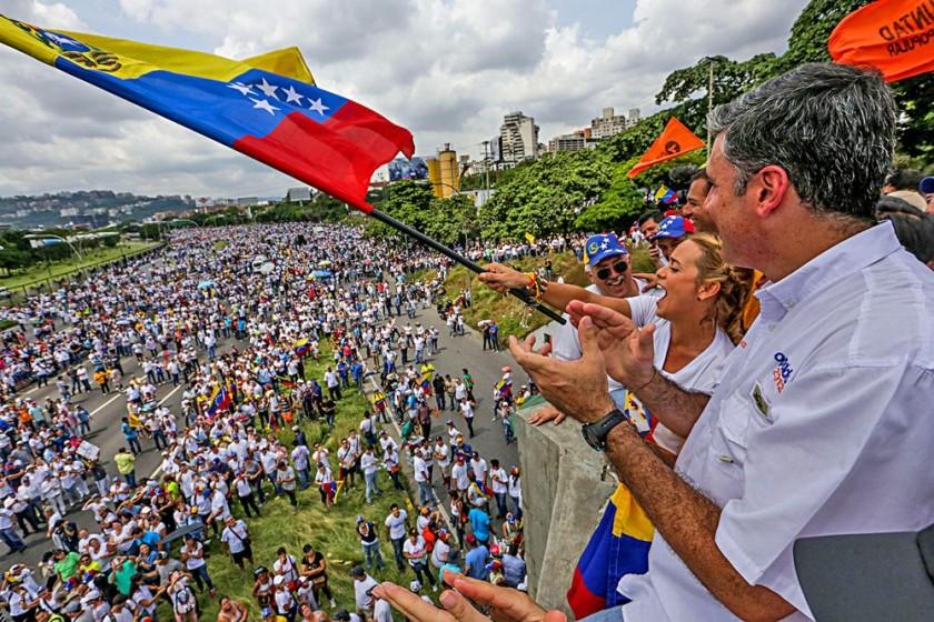 Venezuela protesta en las calles