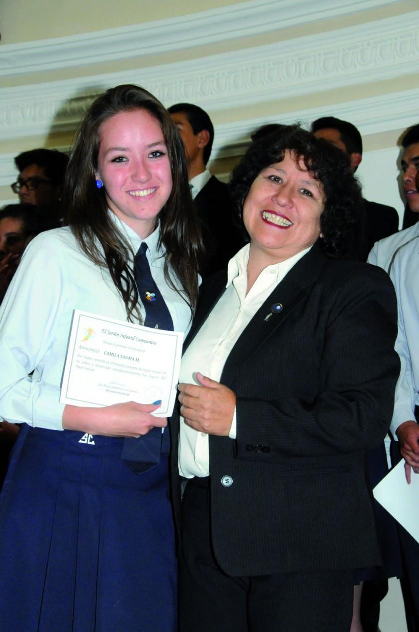 Camila Sauma y Silvia Sandy.
