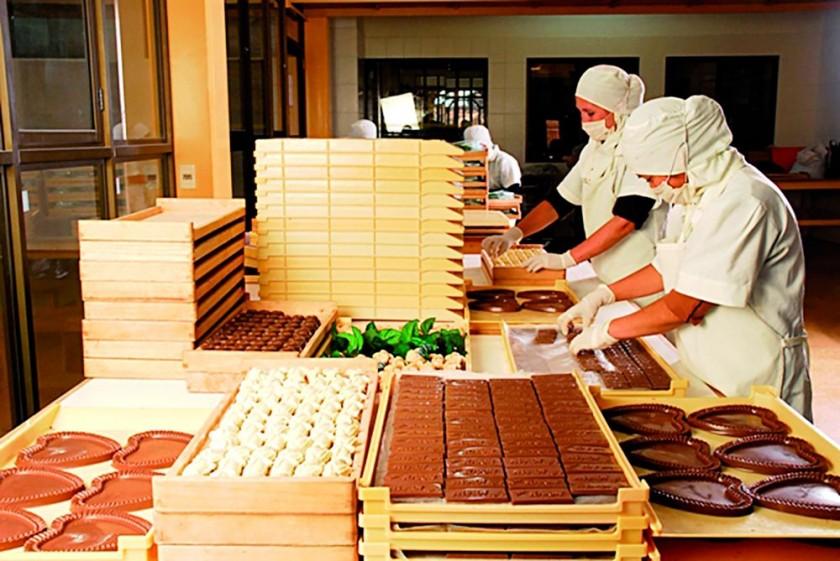 El trabajo en Chocolates Para Ti